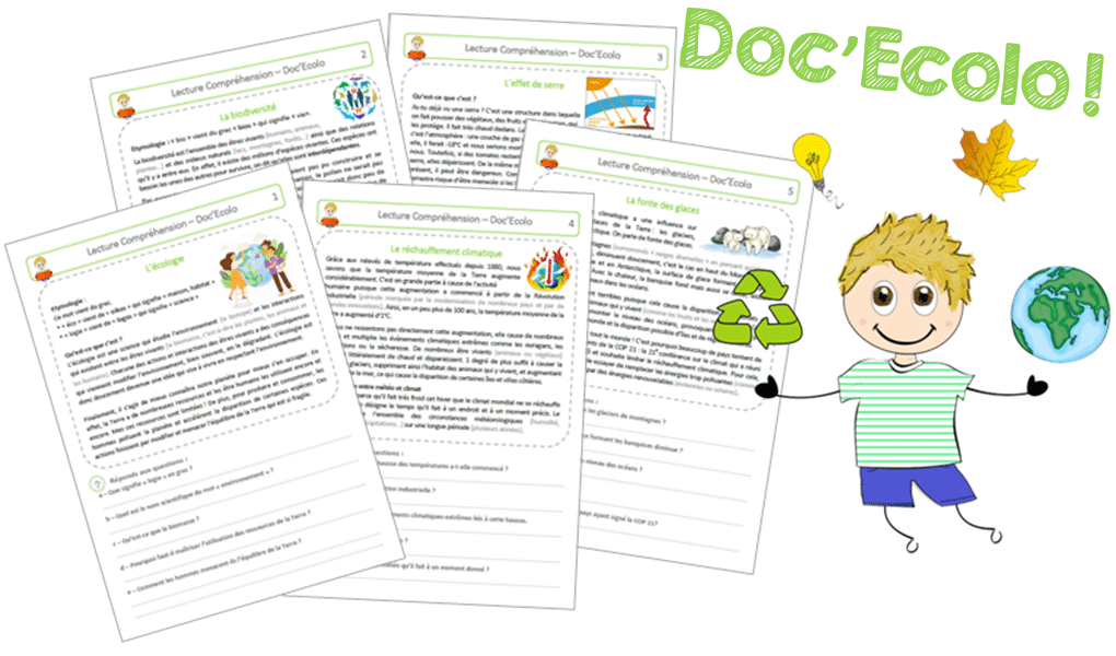 Lecture compréhension : les Doc'Ecolo !