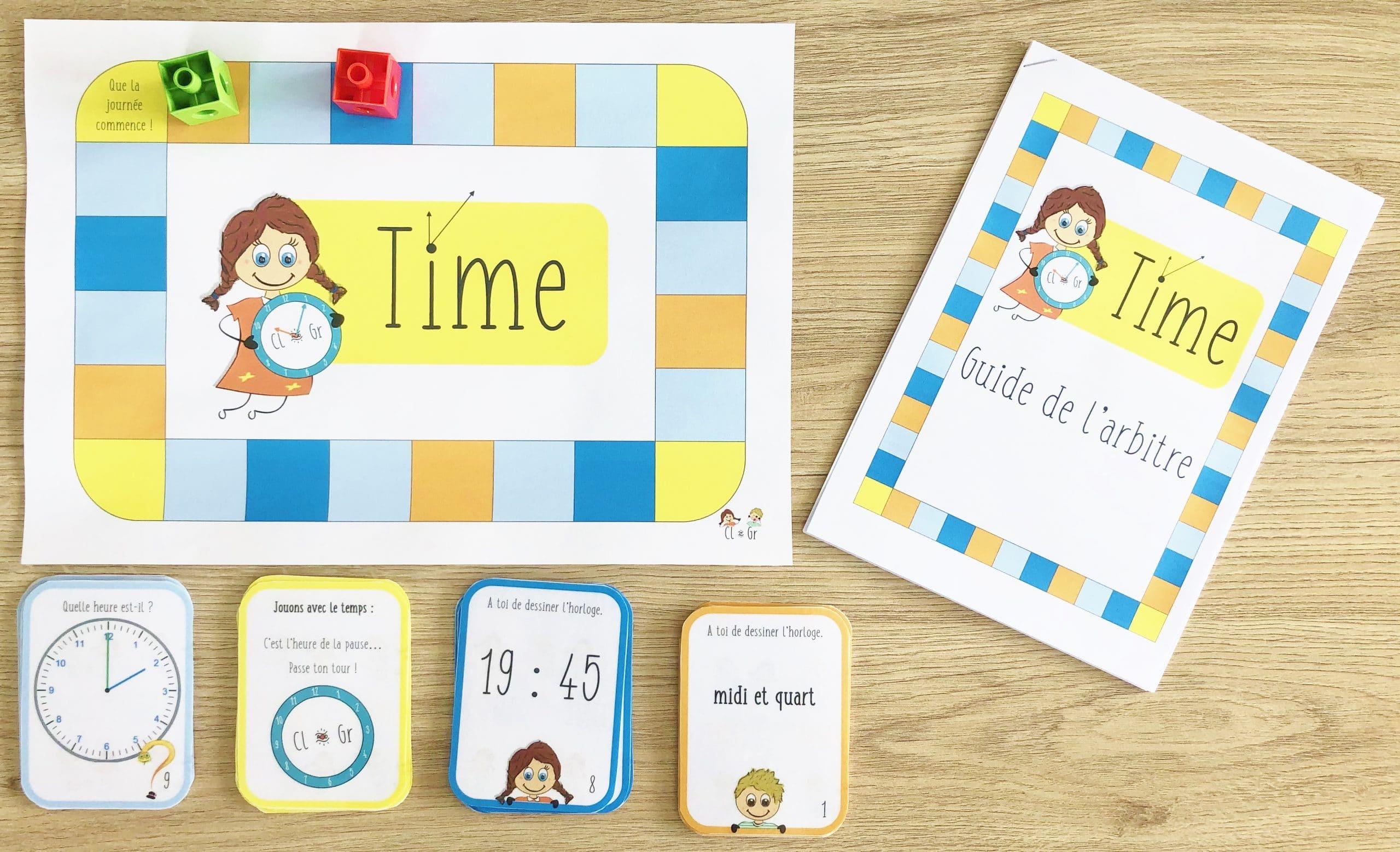 Time : c'est l'heure d'apprendre en jouant !