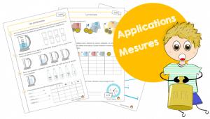 Fiches d'application – Grandeurs et Mesures – Cycle 2
