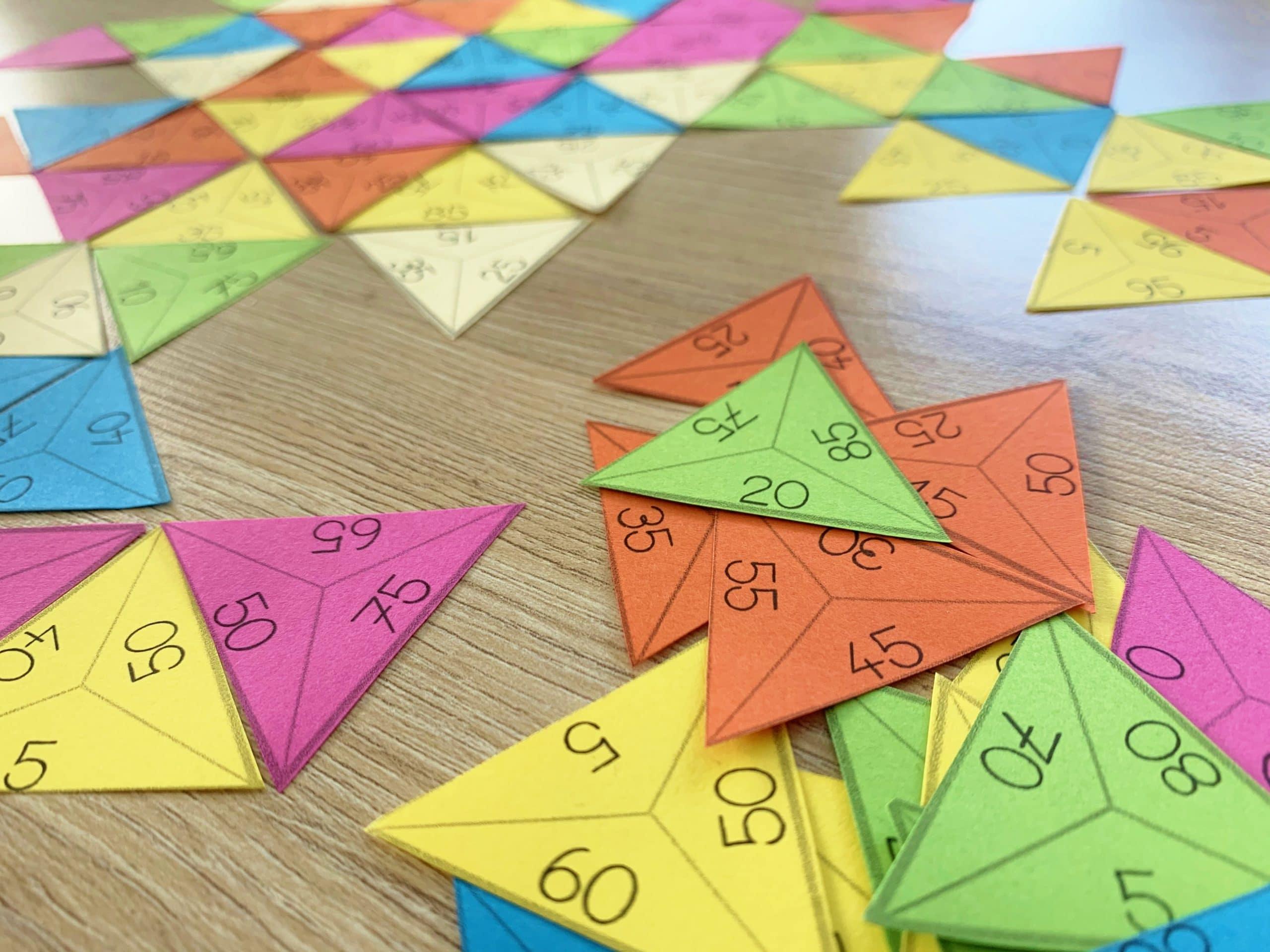 Trio 100 – Le jeu des compléments à 100 !
