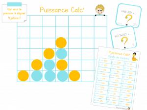 Read more about the article Puissance Calc' : Le puissance 4 version calcul !