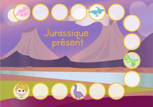 Read more about the article Jurassique présent : atelier sur le présent des verbes particuliers du 1er groupe !