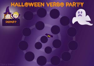 Halloween Verbo Party : Quand le présent devient effrayant !