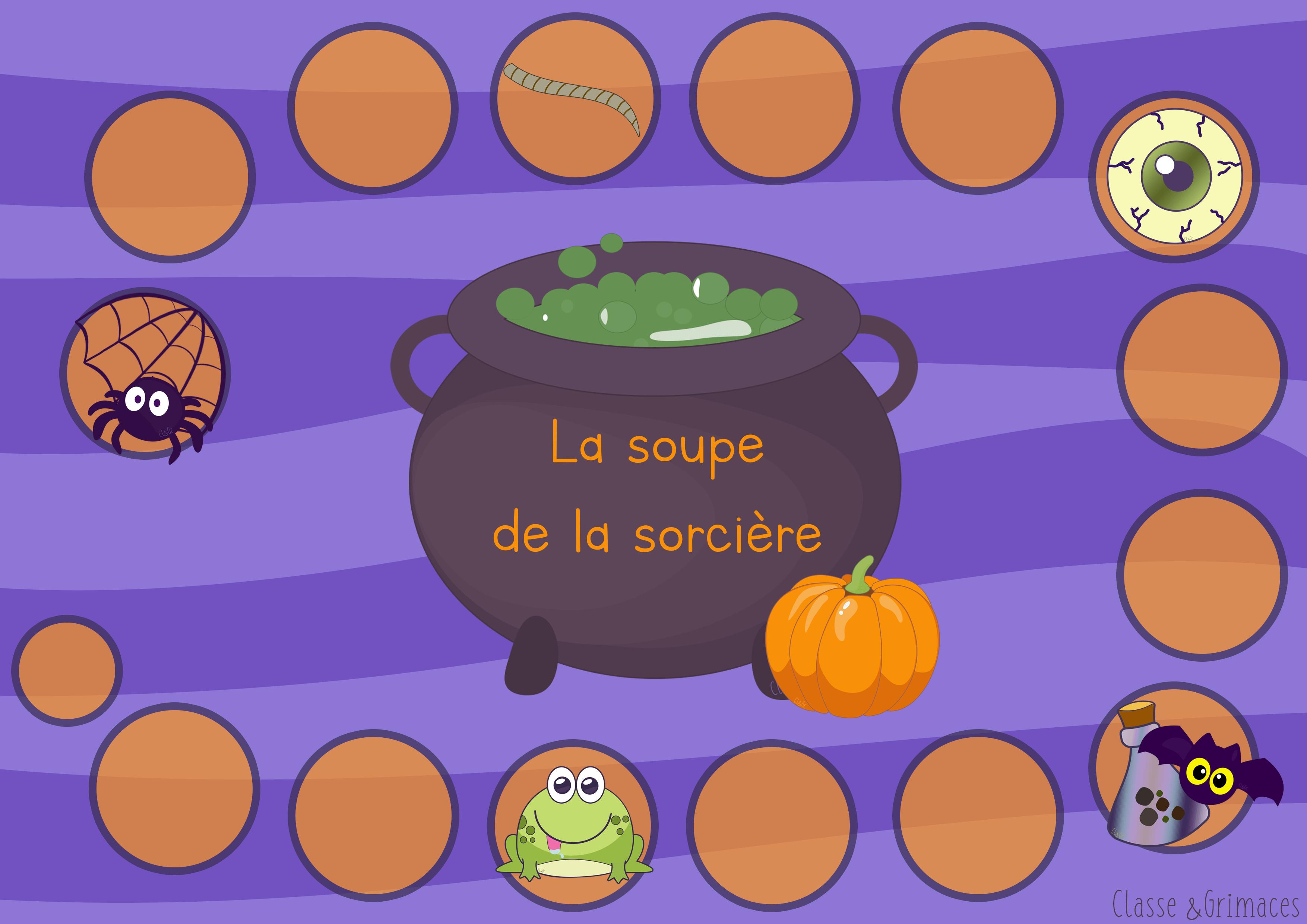 Atelier grammatical : La soupe de la sorcière !