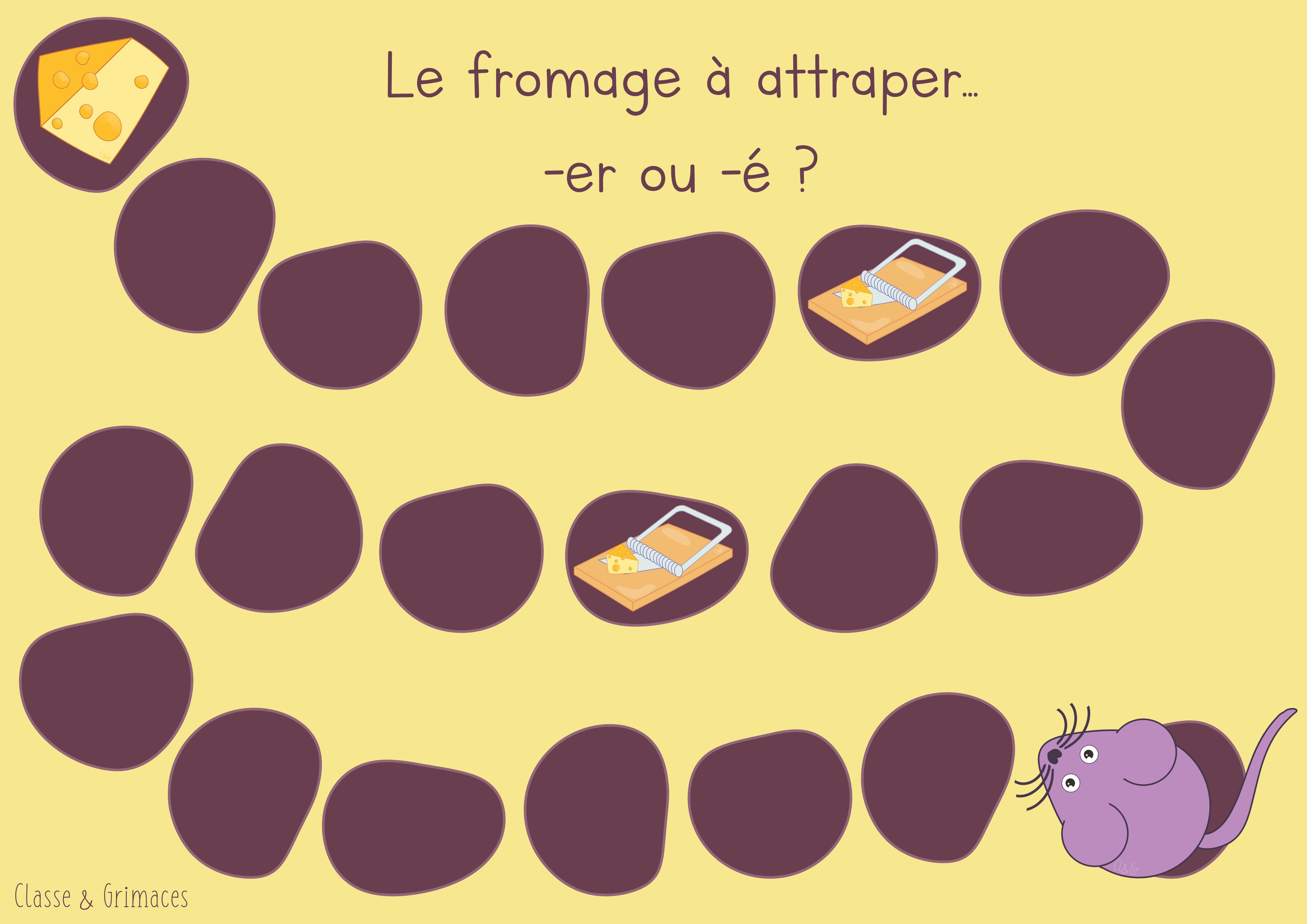 Atelier -é ou -er ? – Le fromage à attraper