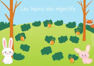 Read more about the article Atelier pluriel – Les lapins des adjectifs