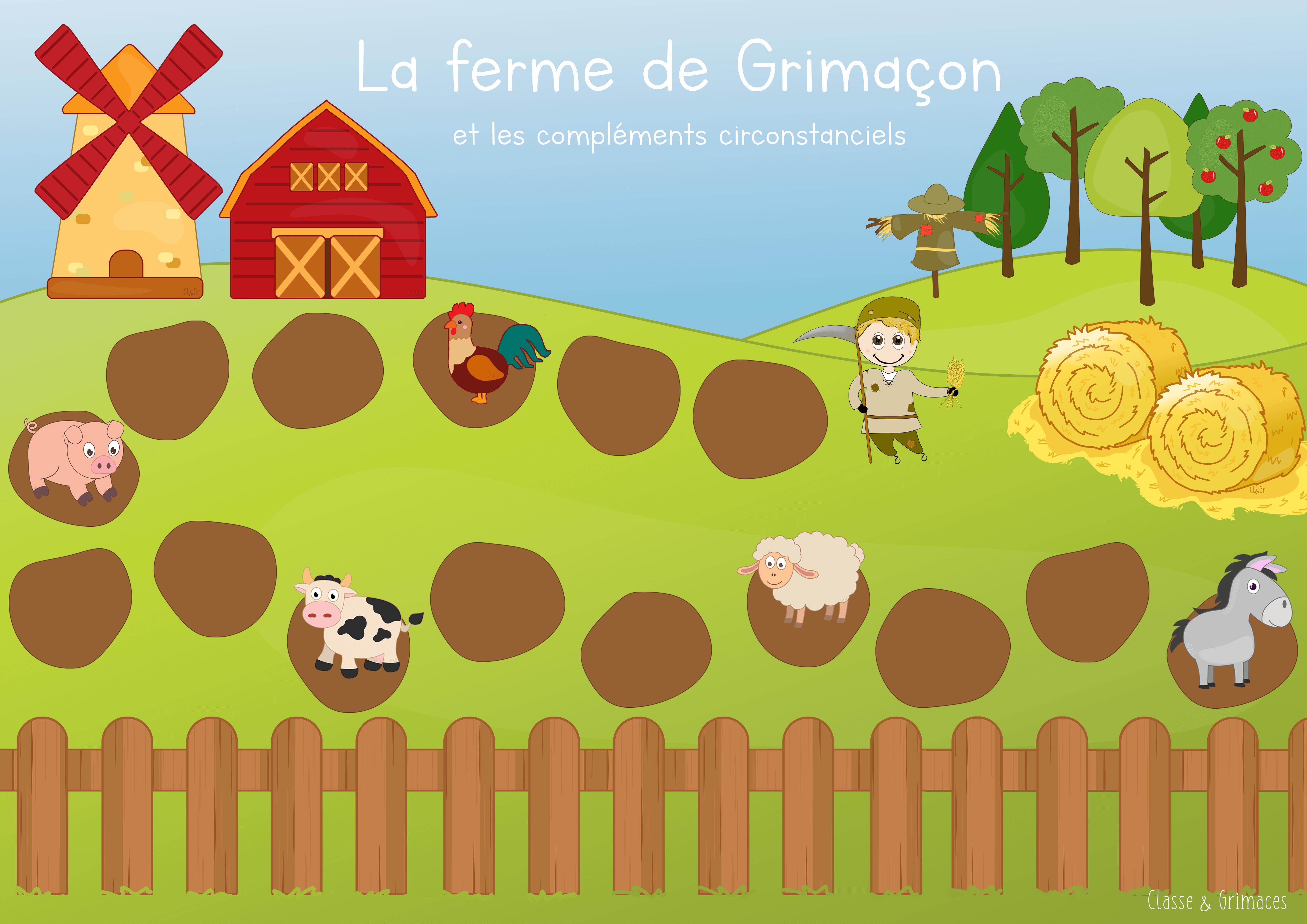 Atelier Compléments Circonstanciels – La ferme de Grimaçon !