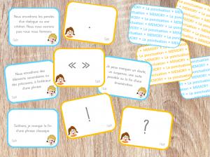 Read more about the article MEMORY de la ponctuation !