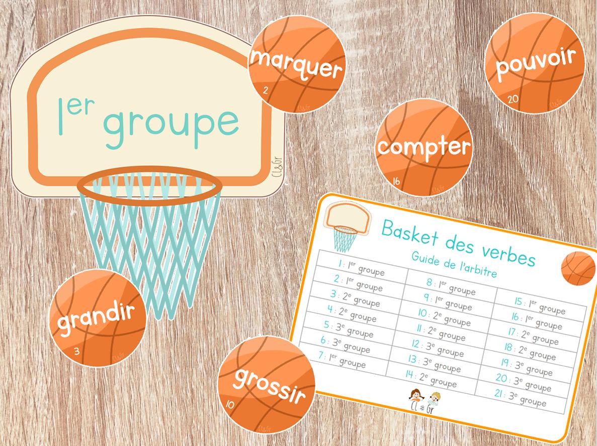 Read more about the article Rituel de conjugaison – Basket des verbes !